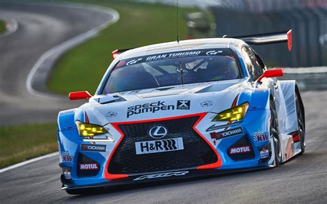 lexus racing team lexus rc f gt3 farnbacher