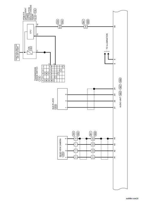Nissan Rogue Service Manual: Wiring diagram - Display