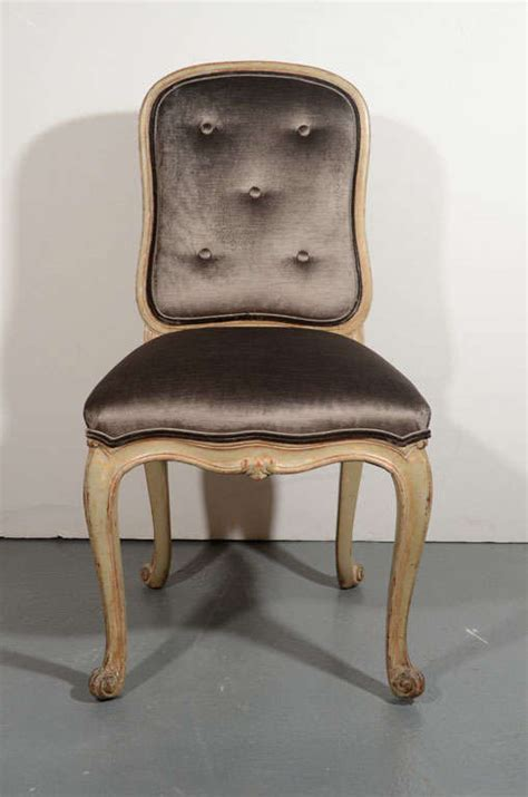 provincial vanity chair or desk chair in