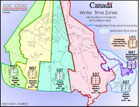 canadian map and time zones time zones in canadamysteries of canada