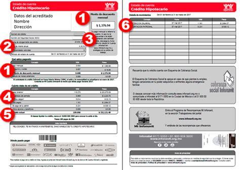 www infonavit org mx retencin de impuestos conoce tu estado de cuenta