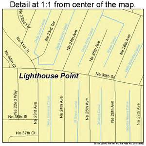 lighthouse point florida map 1240450