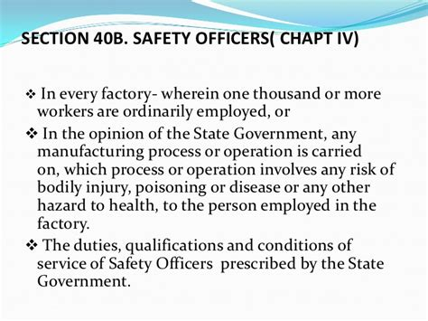 section 40b factories act 1948