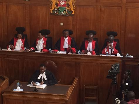 supreme court ruling justices wanjala ibrahim absent as supreme court delivers