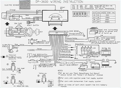 basic car wiring diagram car alarm wiring diagrams vivresaville