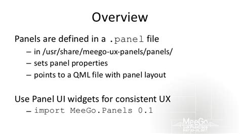 qml box layout how to customize the meego tablet ux
