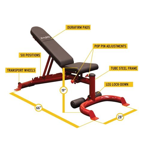 body solid bench attachments body solid flat incline decline bench gfid100 fitnesszone
