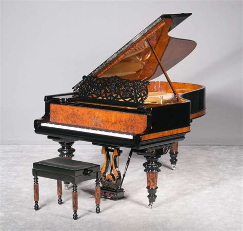 antique steinway sons model  victorian concert grand