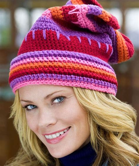 hat pattern red heart 12 free hat patterns to knit or crochet