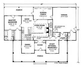 Country Style House Floor Plans by Country Home Designs Floor Plans Home And Landscaping Design