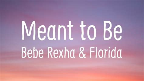 Download Mp3 Free Meant To Be Bebe Rexha | download lagu bebe rexha florida georgia line meant to be