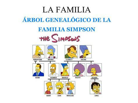 imagenes de la familia simsom arbol de la familia simpsons imagui