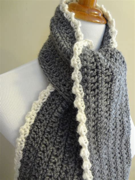 crochet scarf edging patterns crochet and knit
