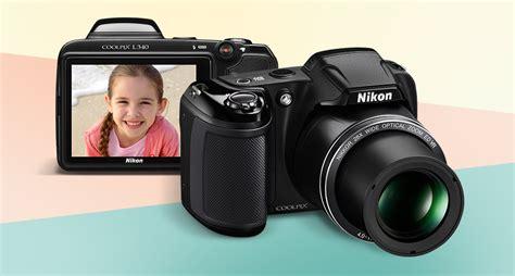 Kamera Nikon L340 jual nikon coolpix l340 prosumer hitam harga kualitas terjamin blibli