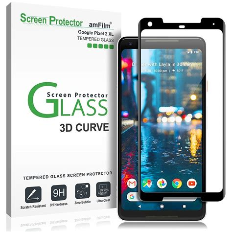Tempered Glass For 2 by Best Tempered Glass Screen Protectors For Pixel 2