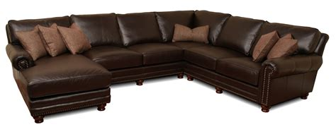deep sectional kingston deep leather sectional