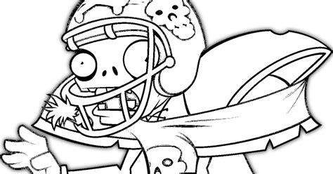 dibujos para colorear de plantas vs zombies en navidad colorear zombie deportista plantas vs zombies