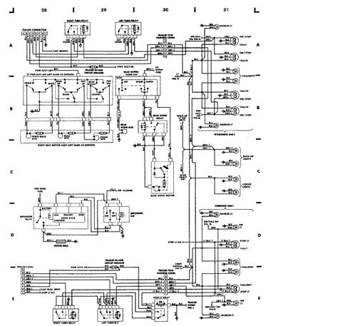 1987 jeep grand wagoneer wiring diagram 1987 free engine