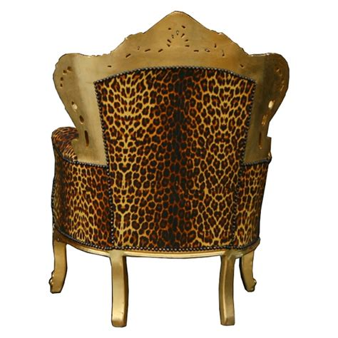 leopard print furniture uk leopard throne antique style salon dining chair