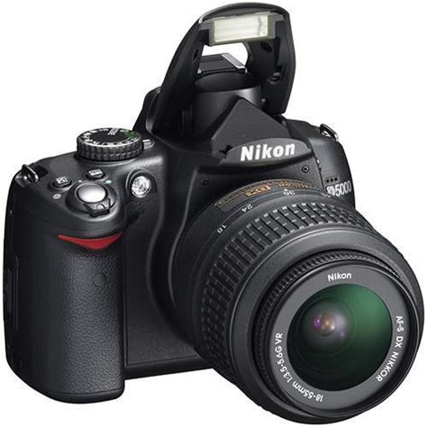nikon refurbished d5000 digital slr kit with 18 55mm
