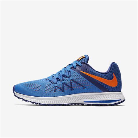 Nike Zoom Motif Blue nike zoom winflo 3 s running shoe nike 831561 402