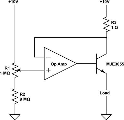 transistor op op what does this op transistor circuit do electrical engineering stack exchange