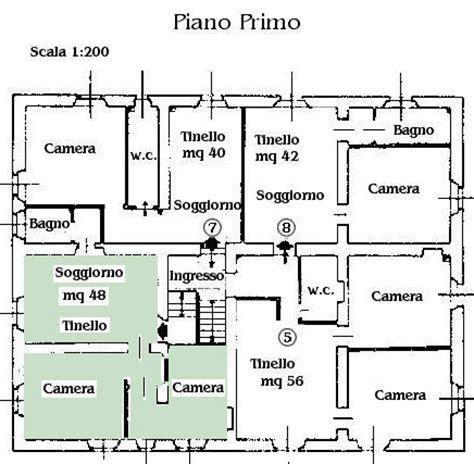 planimetrie appartamenti esempi appartamenti ciglia marittima agriturismo maremma