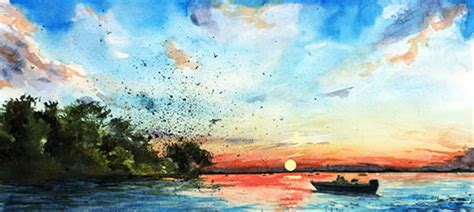 Spring Painting Ideas 10 easy watercolor painting ideas for spring