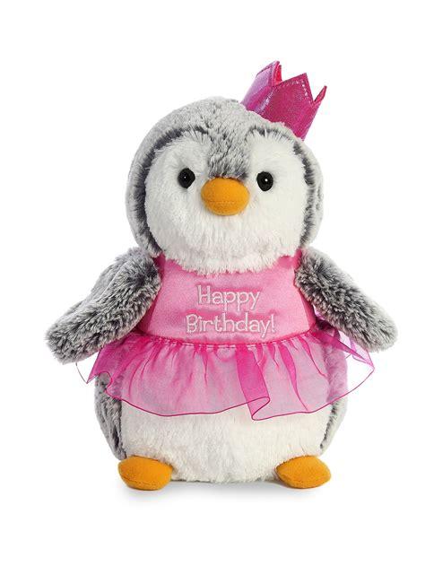 91 Nella Penguin Set Pink stuffed animals world pompom penguin plush