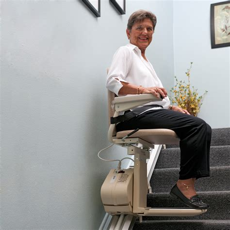 Stair Chair Lifts For Seniors by Stair Lift For Safer In Home Mobility Lifting Solutions Hoveround