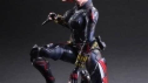 Play Arts Marvel Universe Ori Square Enix New Misb Marvel Universe Variant Play Arts Figure Black Widow