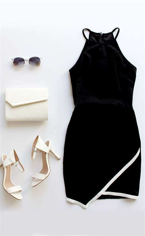 made me ivory and black dress i style and