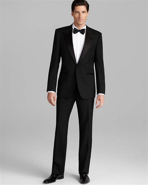 Hugo Bos Black hugo black suit black cary grant peak lapel tuxedo
