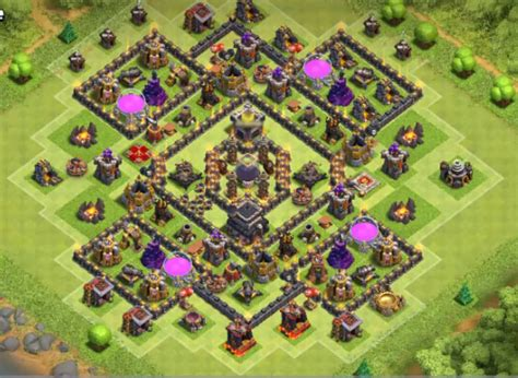 best th8 base the gallery for gt th8 war base anti everything