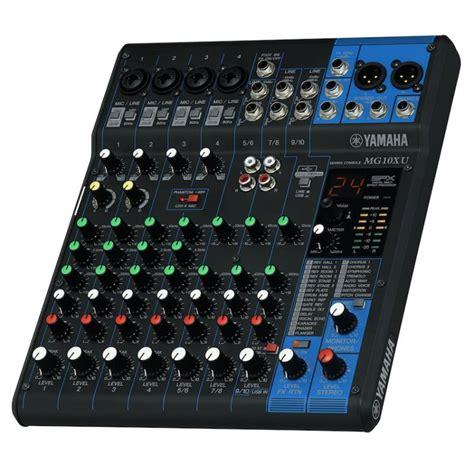 Mixer Yamaha Mg 10 Xu yamaha mg10xu mixer