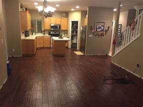 Floating Engineered Wood Flooring How Can I Secure Fasten A Half Installed Floating Engineered Hardwood Floor Home