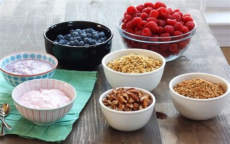 yogurt bar toppings ideas for an easy brunch yogurt parfait brunch and yogurt