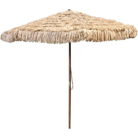 Jordan Manufacturing 9 Hula Wood Market Umbrella Walmart Patio Umbrella