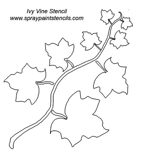 printable stencils vine stencil requests for november 2006