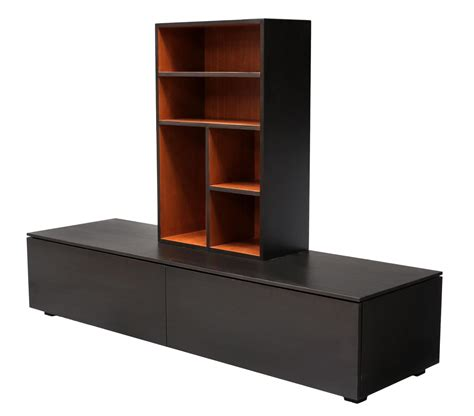 2 contemporary painted media cabinet bookcase summer