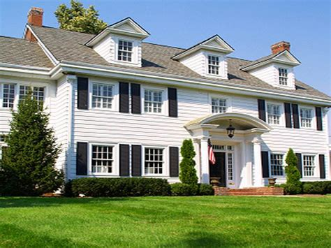 types of colonial houses types of colonial homes