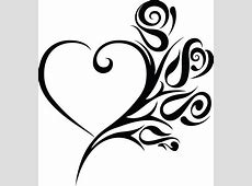 Free Clipart of a heart wedding frame with black and white ... Dripping Chocolate Background