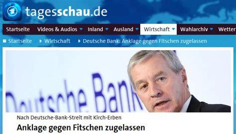warum deutsche bank warum die deutsche bank schweigt faktenkontor
