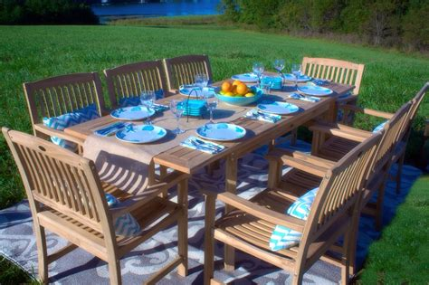 Teak Patio Furniture Set Best Teak Patio Furniture Sets Beachfront Decor