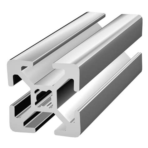 aluminium t section extrusions sprung loaded tee nuts and aluminium profile sections