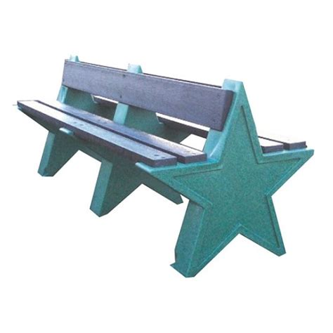 star bench 6 seater star bench buy online from bin shop