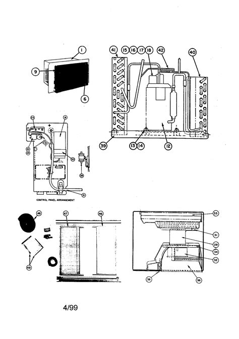 carrier air conditioner parts diagram carrier room air conditioner parts model 51aga706100