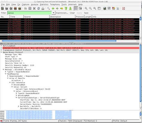 wireshark tutorial filter port opc ua wireshark