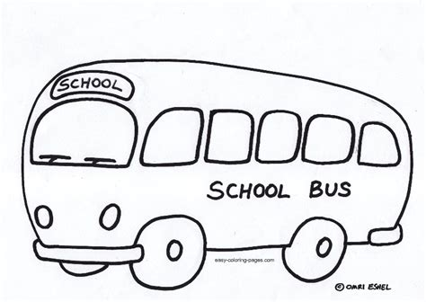 coloring page for bus wheels on the bus coloring page