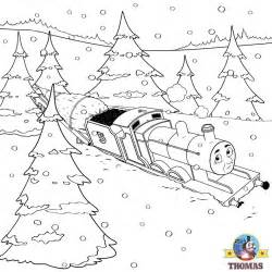 tank engine winter coloring the tank engine friends free and